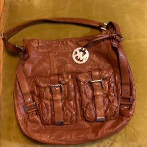 Camel Michael Kors shoulder bag